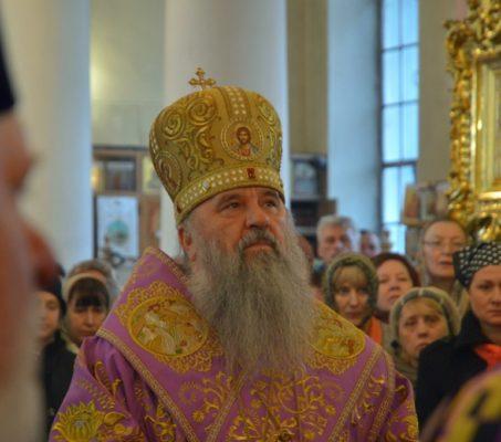 21 апреля митрополит Варсонофий совершит богослужение во Владимирском соборе
