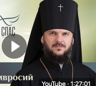 Архиепископ Верейский Амвросий. Ответ священника