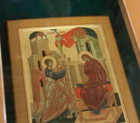 Благовещение Пресвятой Богородицы. Мариино стояние. Фото