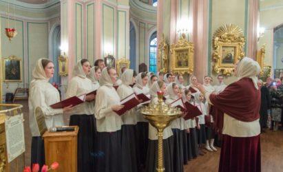 С 6 по 10 января Рождественские колядки прозвучат в исполнении Диаконского Квартета, профессионального и молодежного хора