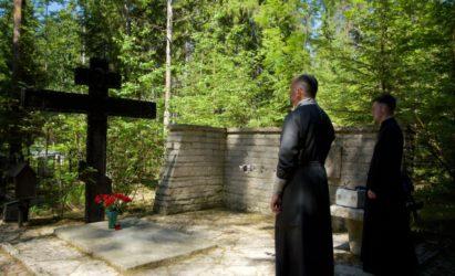 В день 131-летия со дня рождения А.А.Ахматовой было совершено заупокойное Богослужение