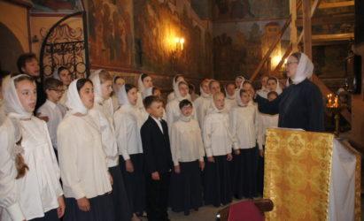 К 30-летию хора прп. Иоанна Дамаскина. Часть 2