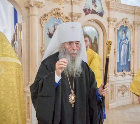 27 мая 92 года исполняется митрополиту Владимиру (Котлярову)
