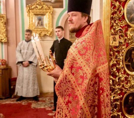 6 июня 45-летие отметил иерей Александр Прокофьев